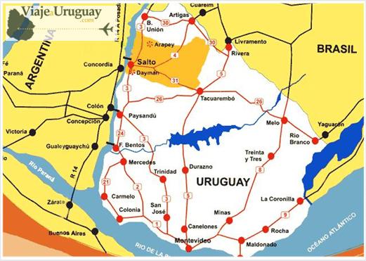 Departamento de Salto en Uruguay